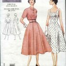 Vintage Vogue Sewing Pattern 2267 Misses size 16 1950&#39;s style Dress Jacket Bolero