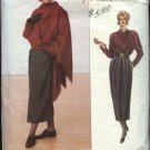 Vogue Sewing Pattern 2370 Misses size 8-10-12 ADRI Skirt Jacket Top Shawl CUT