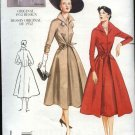 Vogue Sewing Pattern 2401 Misses Size 6-8-10 1952 Style Day Dress
