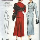 Vintage Vogue Sewing Pattern 2476 Misses Size 6-8-10 1949 Style Skirt Jacket