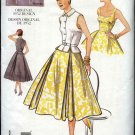 Vintage Vogue Sewing Pattern 2561 Misses size 6-8-10 1952 style Dress Top Belt