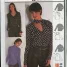 Burda Sewing Pattern 8734 Misses Sizes 12-22 Easy Blouse T-shirt Turtleneck Top