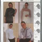 Burda Sewing Pattern 8861 Misses Sizes 8-20 Easy Blouses Tops