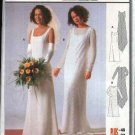 Burda Sewing Pattern 8966 Misses Sizes 10-22 Wedding Dress Bridal Gown