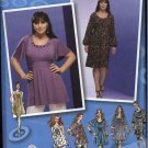 Simplicity Sewing Pattern 2897 Womans Plus Sizes 18W-24W Top Tunic Dress Project Runway