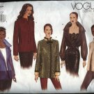Vogue Sewing Pattern 2615 Misses Size 20-24 Basic Easy Jackets