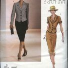 Vogue Sewing Pattern 2629 Misses size 6-8-10 Couture Skirt Jacket Top