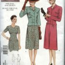 Vogue Sewing Pattern 2636 Misses size 6-8-10 1940 Vintage Style Dress Jacket
