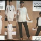 Vogue Sewing Pattern 2725 Misses size 6-8-10 Tamotsu Wardrobe Jacket Skirt Top Pants Dress