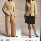 Vogue Sewing Pattern 2729 Misses Size 6-8-10 Anne Klein Jacket Pants Skirt