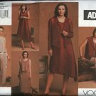 Vogue Sewing Pattern 2751 Misses Size 6-8-10 ADRI Wardrobe Top Vest Pants Dress Jacket Skirt
