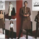 Vogue Sewing Pattern 2756 V2756 Misses Size 8-12 Wardrobe Dress Jacket Skirt Top Pants