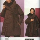 Vogue Sewing Pattern 2757 Misses size 6 Koos Van Den Akker Reversible Quilted Coat