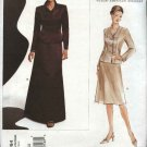 Vogue Sewing Pattern 2764 Misses size 6-8-10 Oscar de la Renta Jacket Skirt