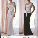 Vogue Sewing Pattern 2776 Misses Size 8-10-12 Badgley Mischka 2-piece Evening Gown Formal Dress