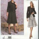 Vogue Sewing Pattern 2792 Misses size 8-10-12 DKNY Skirt Jacket