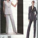 Vogue Sewing Pattern 2806 Misses size 6-8-10 Montana Jacket Pants Vest Paris Original