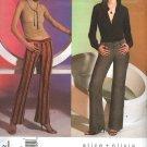 Vogue Sewing Pattern 2812 Misses Size 18-20-22 alice+olivia Easy Low-rise Pants Slacks