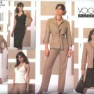 Vogue Sewing Pattern 2815 Misses Size 18-20-22 Easy Wardrobe  Shirt-Jacket Halter Top Skirt Pants