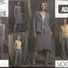 Vogue Sewing Pattern 2817 Misses  size 6-8-10 ADRI Easy Wardrobe Skirt Jacket Top Dress Pants