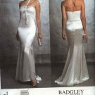 Vogue Sewing Pattern 2838 Misses Size 6-8-10 Badgley Mischka Formal Evening Gown Dress