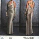 Vogue Sewing Pattern 2840 Misses size 6-8-10 Bellville Sassoon Evening Gown Formal Halter Dress