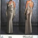 Vogue Sewing Pattern 2840 Misses size 12-14-16 Bellville Sassoon Evening Gown Formal Halter Dress