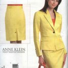 Vogue Sewing Pattern 2853 Misses Size 18-20-22 Anne Klein Jacket Skirt Suit