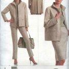 Vogue Sewing Pattern 2854 Misses size 6-8-10 Jacket Skirt Pants Oscar de la Renta