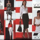 Vogue Sewing Pattern 2863 Misses size 12-14-16 Easy Wardrobe Dress Top Skirt Pants Shirt Capris