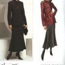 Vogue Sewing Pattern 2872 Misses Size 14-16-18 Anne Klein Jacket Skirt Suit