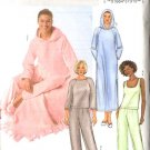 Butterick Sewing Pattern 4038 P103 Misses Size 6-14 Easy Loungwear Pajamas Robe Pants Top