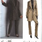 Vogue Sewing Pattern 2886 Misses Size 6-8-10 Guy Laroche Pantsuit Jacket Pants