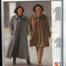 Burda Sewing Pattern 2609 Women's Plus Size 20-30 Loose Fitting Winter  Coat
