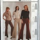Burda Sewing Pattern 8412 Misses Size 8-18 Easy Fitted Pants with wide legs