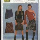 Burda Sewing Pattern 8561 Misses Teens Sizes 8-20 Easy A-line Skirts