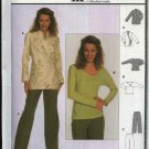 Burda Sewing Pattern 8653 Misses Sizes 8-18 Wrap Front Jacket Top Pants