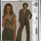 Burda Sewing Pattern 8660 Misses Size 10-20 Easy Jacket Top Pants