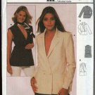 Burda Sewing Pattern 8668 Misses Size 8-20 Jacket Vest Top