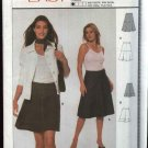 Burda Sewing Pattern 8688 Misses Size 8-18 Very Easy Flared Fitted Skirt