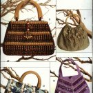 Vogue Sewing Pattern 0674 8216 Handbags Purse Bag Pocketbook Beaded Embellished