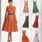 Vogue Sewing Pattern 8020 Misses size 18-20-22 Easy Dress Belt Full skirt