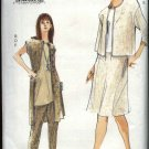 Vogue Sewing Pattern 7067 Misses Size 8-12 Easy Wardrobe Jacket Top Skirt Pants Vest