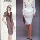Vogue Woman Sewing Pattern 7424 Misses Size 12-16 Straight Dress