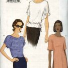 Vogue Sewing Pattern 7457 Misses Size 6-8-10 Easy Loose Pullover Top Tunic