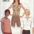 Vogue Sewing Pattern 7478 Misses Size 6-8-10 Very Easy Casual Tops Shell
