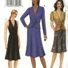 Vogue Sewing Pattern 7672 Misses Size 14-16-18 Mock Wrap Top Skirt Suit Two-piece Dress