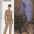 Vogue Woman Sewing Pattern 7682 Misses size 20-22-24 Easy Jacket Skirt Pants Suit Pantsuit