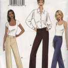 Vogue Sewing Pattern 7685 Misses Size 12-14-16 Easy Wide Low-Rise Pants Jeans