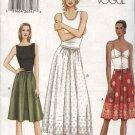 Vogue Sewing Pattern 7689 misses Size 12-14-16 Easy Dirndl Gathered Skirt A-line Half-Slip